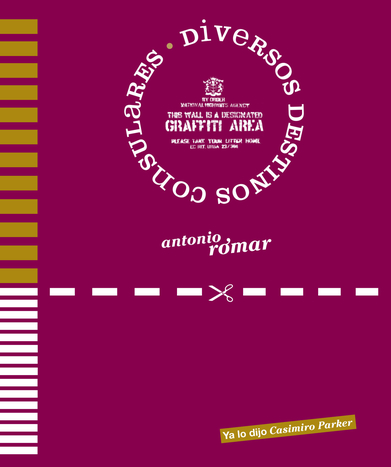 Cubierta del libro «Diversos destinos consulares». Editorial Ya lo dijo Casimiro Parker, 2011.